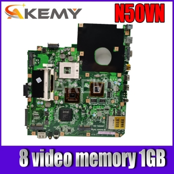 k43sv motherboard gt520m 1gb rev 4 1 for asus a43s x43s k43sv k43sj laptop motherboard k43sv mainboard k43sv motherboard Akemy For ASUS N50VN Laotop Mainboard N50VC N50VN N50V Motherboard with 8 video memory 1GB