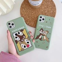 iphone 11Pro MAX Chip Dale cartoon soft cover iphone MAX XS XR 7 8plus SF