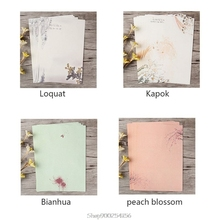 Envelopes Writing-Paper Letter-Set Decoration Chinese-Style Vintage for Student Office