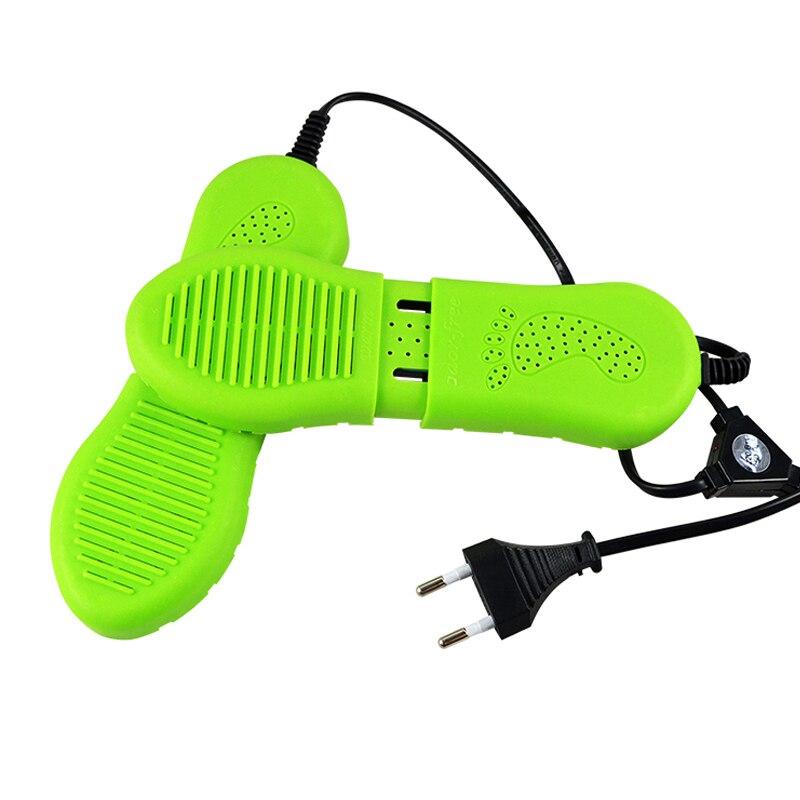 New Shoe Dryer Green Shoe Deodorizer Secadores Electric Machine Drying Shoes Dryer Warmers