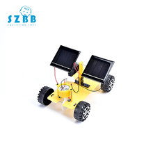 SZ STEAM DIY kids Science Experiment Electric Model Kits physics technology toys Solar car STEM Educational SZ33a1