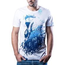 2020 luźna koszulka męska animacja kreskówka 3D T-shirt z nadrukiem na co dzień moda lato 3D T-shirt z nadrukiem tanie tanio Krótki CN (pochodzenie) O-neck tops Tees Routine Suknem Poliester Cartoon