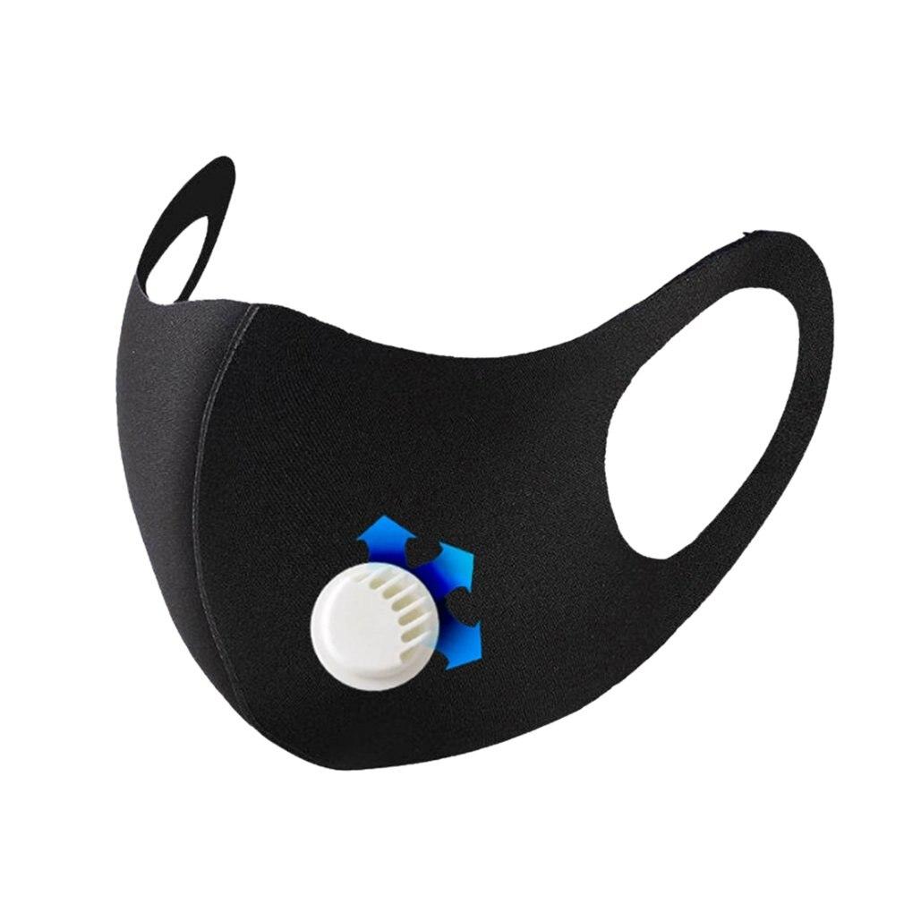 Mascarilla Antipolvo PH2.5 Unisex 3 Uds Facial Lavable Y Reutilizable Para Hombre Y Mujer With Breathing Valve 1Pcs
