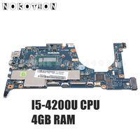 Nokotion zivy0 LA-A921P placa principal para lenovo yoga 2 13 computador portátil placa mãe 13.3 polegada I5-4200U 1.6 ghz cpu 4 gb de memória