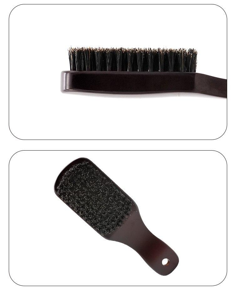 portátil escova de madeira lidar com barba