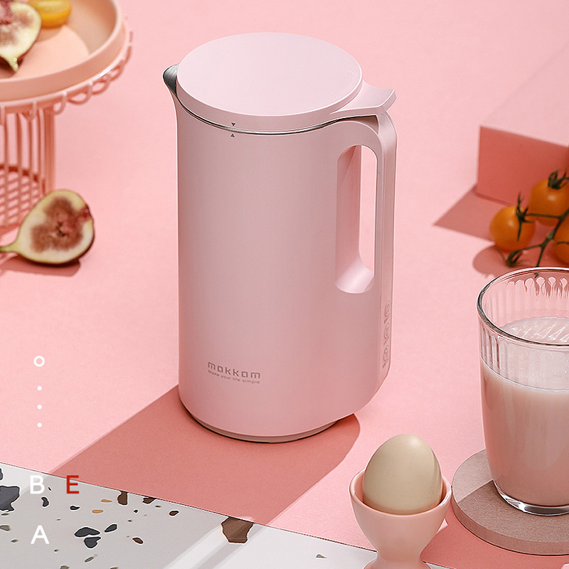 220V Multi-function Juicer Small Stainless Steel Broken Food Machine Electric No Filter can be Heated Soya-bean Milk Machine