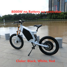 Electric Bicycle Ebike-Stealth No-Battery Bomber 8000W 72V1500W3000W/5000W Plus No-Controller