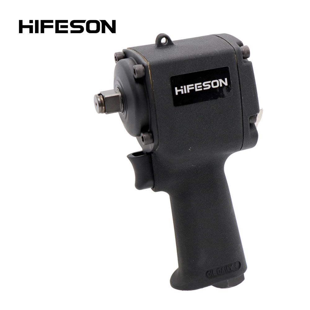 HIFESON 1/2 High Quality Mini Pneumatic Impact Wrench Car Repairing Impact Wrench Tools Auto Spanners 11000 R.P.M