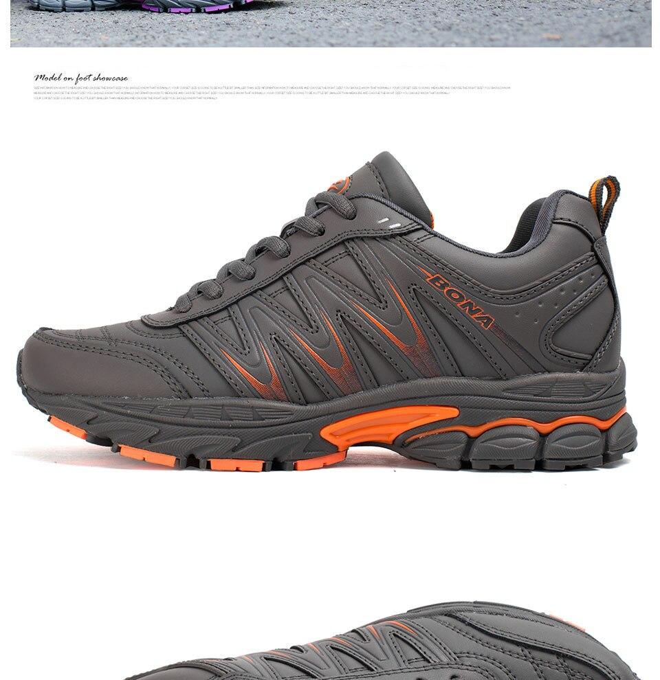 H89478226c317498b9e1cd104af3c2f3f6 BONA 2019 New Designers Casual Shoes Men Style Cow Split Sneakers Male Lightweight Outdoor Fashion Footwear Man Trendy Comfy