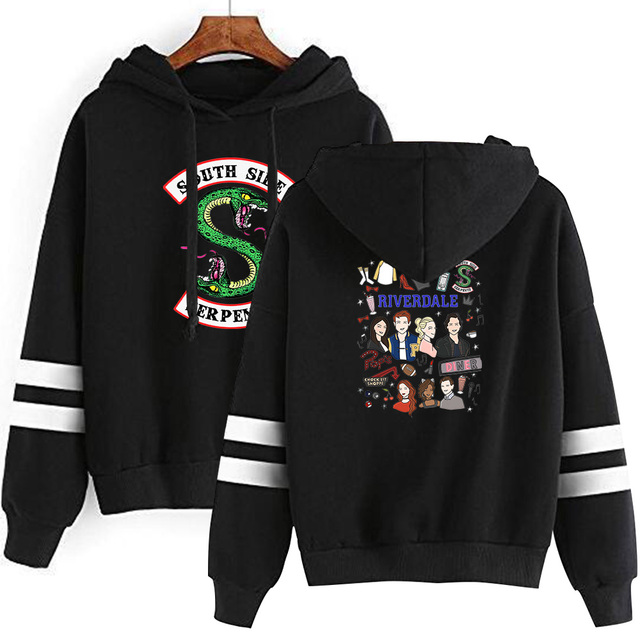 RIVERDALE SOUTH SIDE SERPENT HOODIE (5 VARIAN)