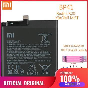 BP41 100% Original XIAO MI Phone Battery for Xiaomi Redmi K20 / Mi 9T Replacement Batteries Xiomi MI9T bateria 4000mAh