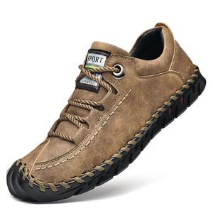 Image 2 - מותג קיץ גברים של נעליים יומיומיות רך בעבודת יד מוקסינים גברים נעלי יוקרה מותג אביב אופנה גבר נעלי סירת נעלי מכירה לוהטת