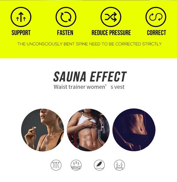 Steel Boned Waist Corset Trainer Sauna Sweat Sport GirdleWomen Weight Loss Lumbar Shaper Workout Trimmer Belt Pregnant woman 4