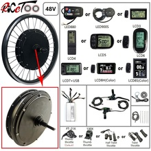 Conversion-Kit Wheel-Spoke-Motor Electric-Bicycle Optional-20-29inch 48v 1500w Throttle-E-Bike