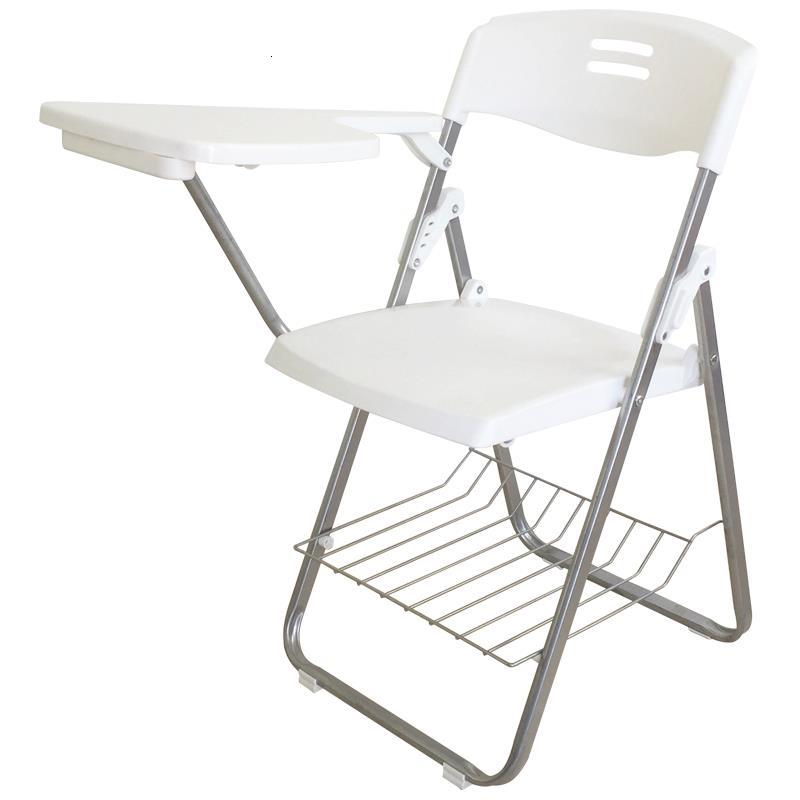 Pegable De Plegable Metal Living Room Jefe Alta Calidad Sedie Moderne Pieghevoli Office Silla Oficina Folding Chair With Board