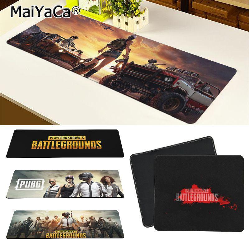 Maiya Top Quality PUBG PLAYERUNKNOWN BATTLEGROUNDS DIY Design Pattern Game Mousepad Free Shipping Large Mouse Pad Keyboards Mat