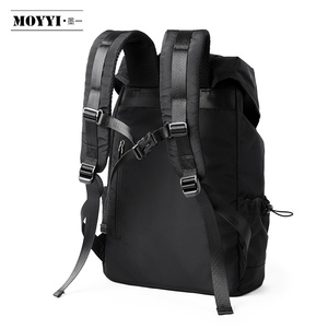 Image 4 - MOYYI  New Fashion Mens Backpack School Bag Mens travel Bags Large Capacity Travel Waterproof 14 15.6 inch Laptop Backpack