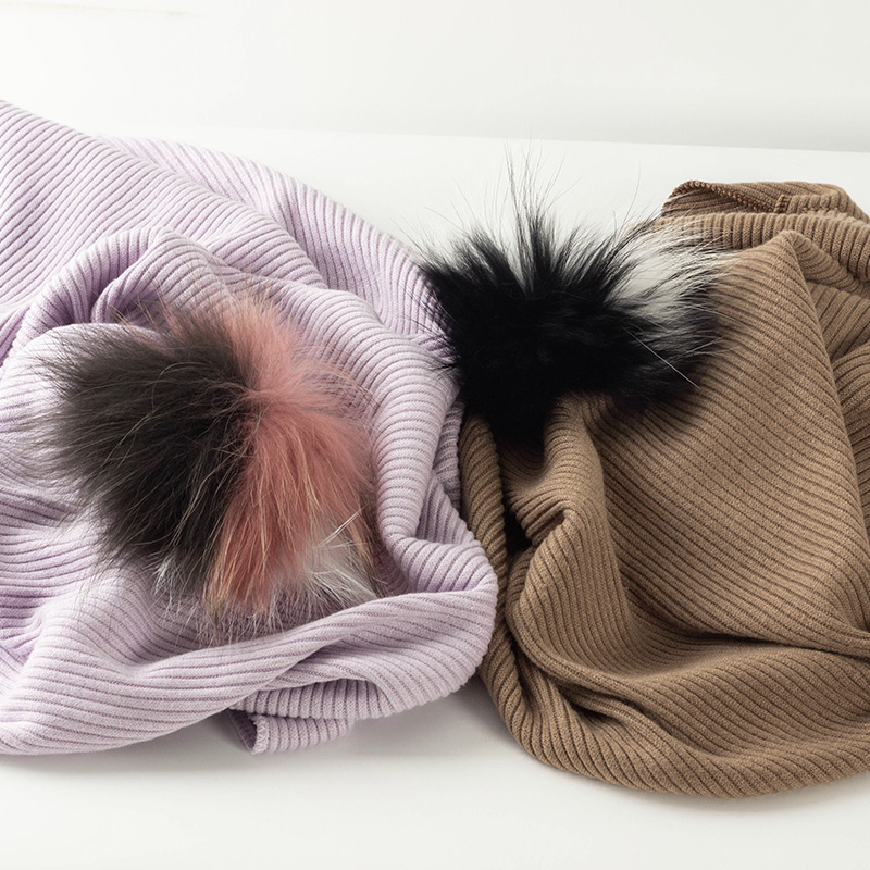 Children's Soft With 5 Real triple color Pompom Newborn Warm Blanket Toddler Infant Travel Ribbed Baby Quilt Bedding Sleepsack