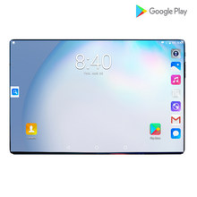 2021 android 4g lte 10.1 tela da tabuleta mutlti toque android 8.0 octa núcleo ram 6gb rom 128gb câmera 5mp wifi 10 Polegada tablet pc