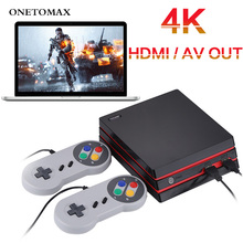 4K Game Console HDMI/AV Output 32 Bit Mini TV Handheld Retro Video Game Console Built in 300 Classic Game Family TV Game Console 2018 portable video handheld game console retro 64 bit 3 inch 3000 video game retro handheld console to tv rs 97 retro gane 07