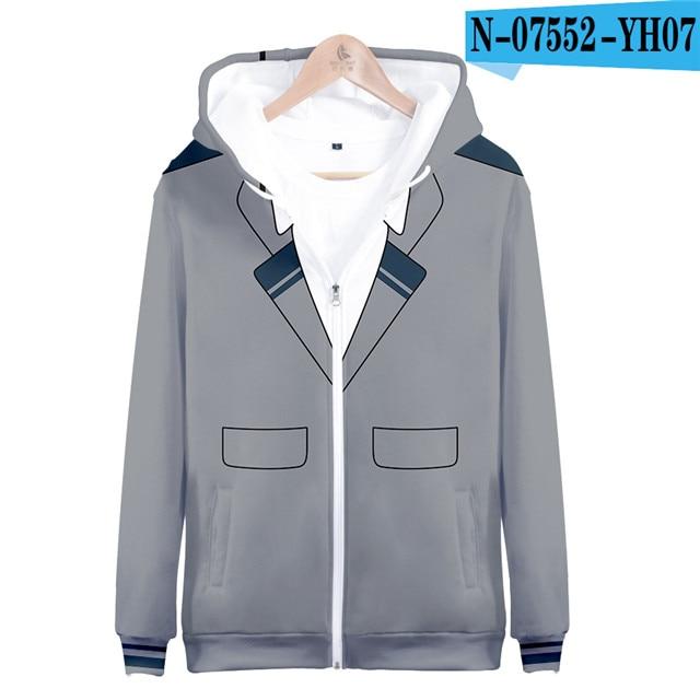 My hero academia hoodies izuku midoriya shouto todoroki boku no hero academia Cosplay Costume Sweatshirt boys girl Zipper Jacket 18