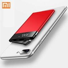 Xiaomi ультра-тонкий портативный внешний аккумулятор 20000 мАч для смартфона, аккумулятор, внешний аккумулятор, быстрая зарядка, мини милый мобильный внешний аккумулятор