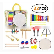 1 Set Orff Instruments Percussion Instrument Parent And Child Teaching Aids Early Childhood Educational Toy