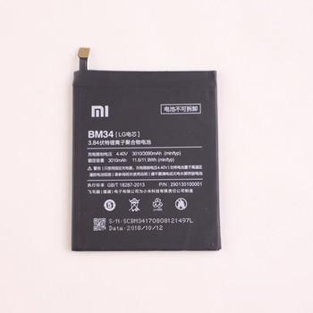 100 ٪ الأصلي BM34 البطارية ل XIAOMI مي ملاحظة برو 4GB RAM 3010mAh القدرة الحقيقية استبدال البطارية أدوات مجانية حزمة البيع بالتجزئة 1