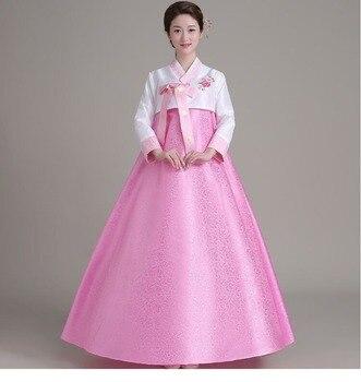 2019 Top Sale Hanbok Dress Korean Traditional Hanbok Korean National Costumes Woman Hanbok Hallowen Cosplay Gifts