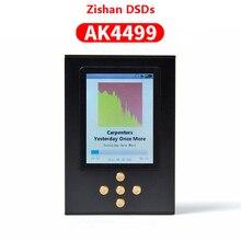 Nicehck zishan dsds ak4499 pro profissional leitor de música mp3 dap ad8620ar muses02 alta fidelidade portátil 2.5mm equilibrado ak4499eq 4499