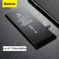 Bateria de lítio baseus para iphone 7 8 plus bateria de telefone de substituição 3400 mah capacidade do telefone com ferramentas gratuitas