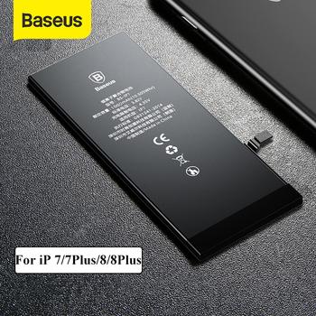 Bateria litowa Baseus do iPhone 7 8 Plus baterie do telefonów zamiennych 3400mAh pojemność bateria do telefonu z darmowymi narzędziami tanie i dobre opinie 1801 mAh-2200 mAh Kompatybilny Apple iphone ów Phone Battery For iPhone 7 1960mAh 1960mAh Capacity for iPhone 7 2900mAh Capacity for iPhone 7 Plus