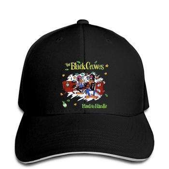 Gorra de béisbol Popular THE BLACK crores Hard to Handle Rock Band negro snapback para hombres