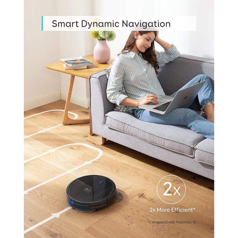 Купить робот пылесос eufy robovac g10 hybrid умная динамическая навигация