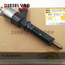 6 PCS genuine New Fuel Injector 326-4700 3264700 for C6 C6.4 Engine 320D 320DL for Caterpillar C6,C6.4,320D excavator цена