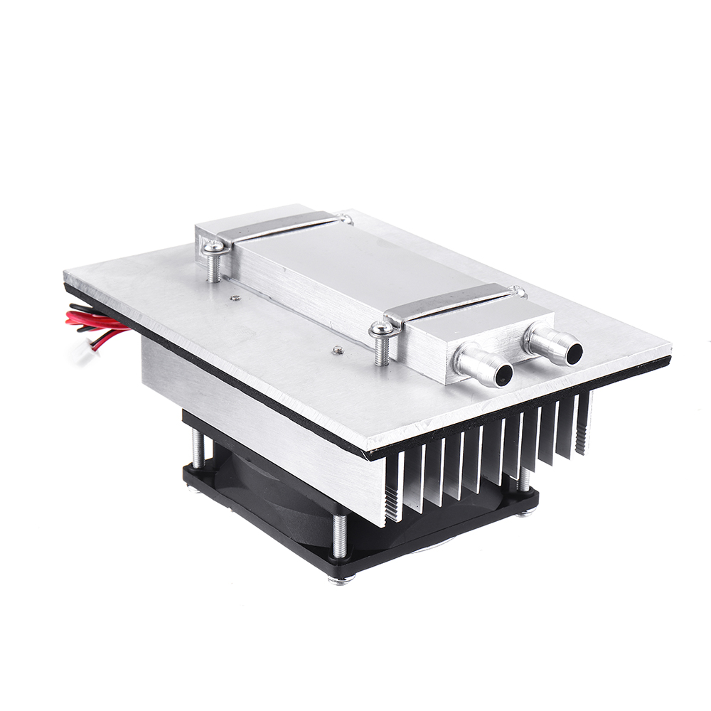 12V 120W Electronic Semiconductor Refrigeration Small Air Conditioner Micro Cooling System Space Radiator Refrigerator