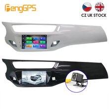 Автомобильный dvd плеер на android 100 для citroen c3 ds3 2010