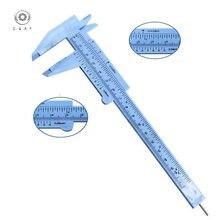 Пластиковый штангенциркуль 0 150 мм мини wenwan vernier измерительный