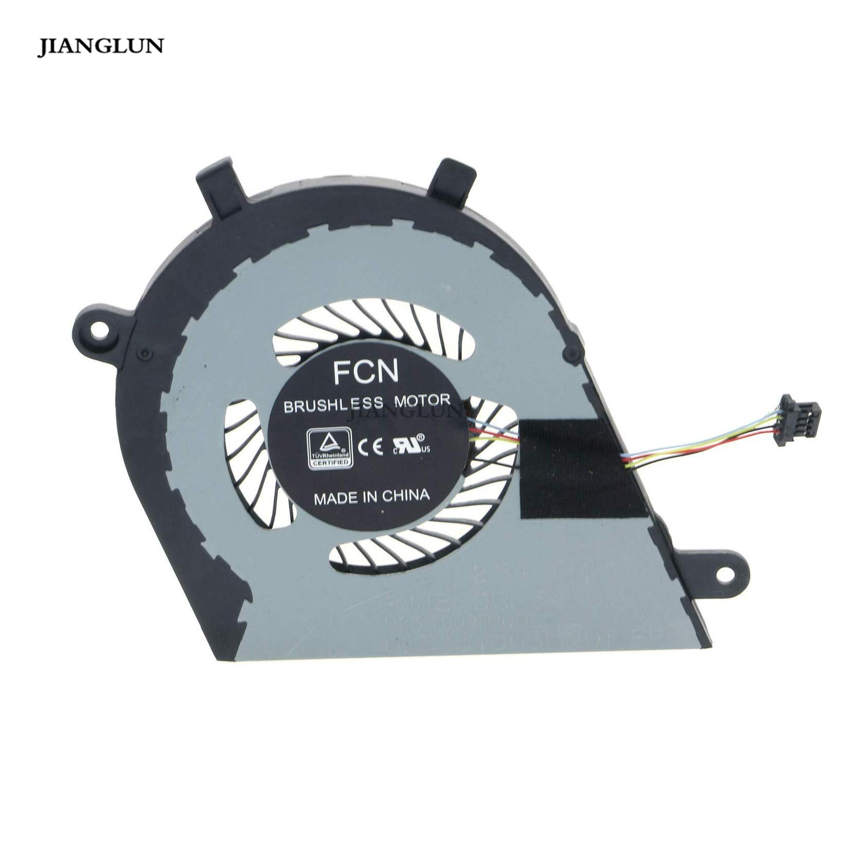 JIANGLUN Laptop CPU Cooling Fan For Dell Inspiron 13 7370 7373 I7373 DJFK0