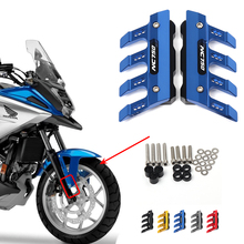 For HONDA NC750X NC750S NC 750 Motorcycle Mudguard Front Fork Protector Guard Block Front Fender  Slider 750X 750S Accessories