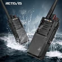 Powerful Walkie Talkie IP67 Waterproof RETEVIS RT29 2PCS UHF/VHF Long Range Two way Radio Transceiver for Farm Factory Warehouse