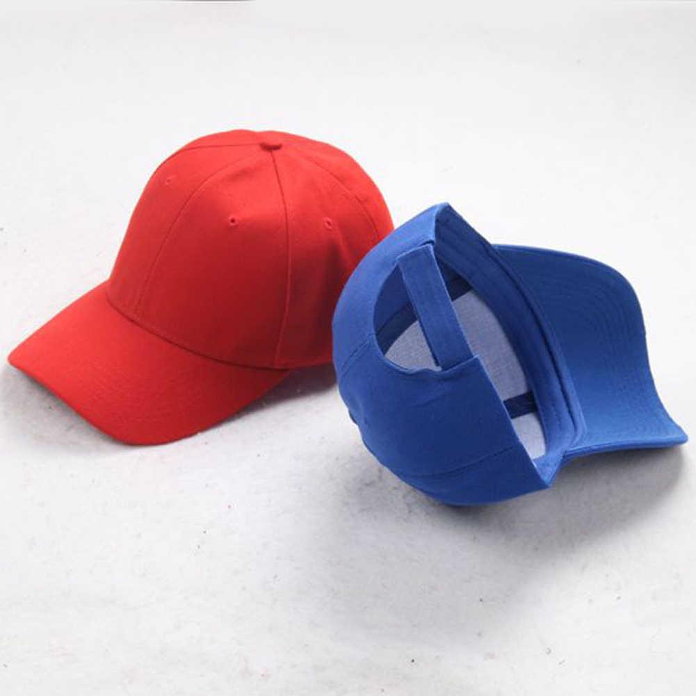 Femmes hommes chapeau incurvé pare-soleil panneau lumineux couleur unie casquette de Baseball hommes casquette en plein air chapeau de soleil réglable sport casquette de Baseball