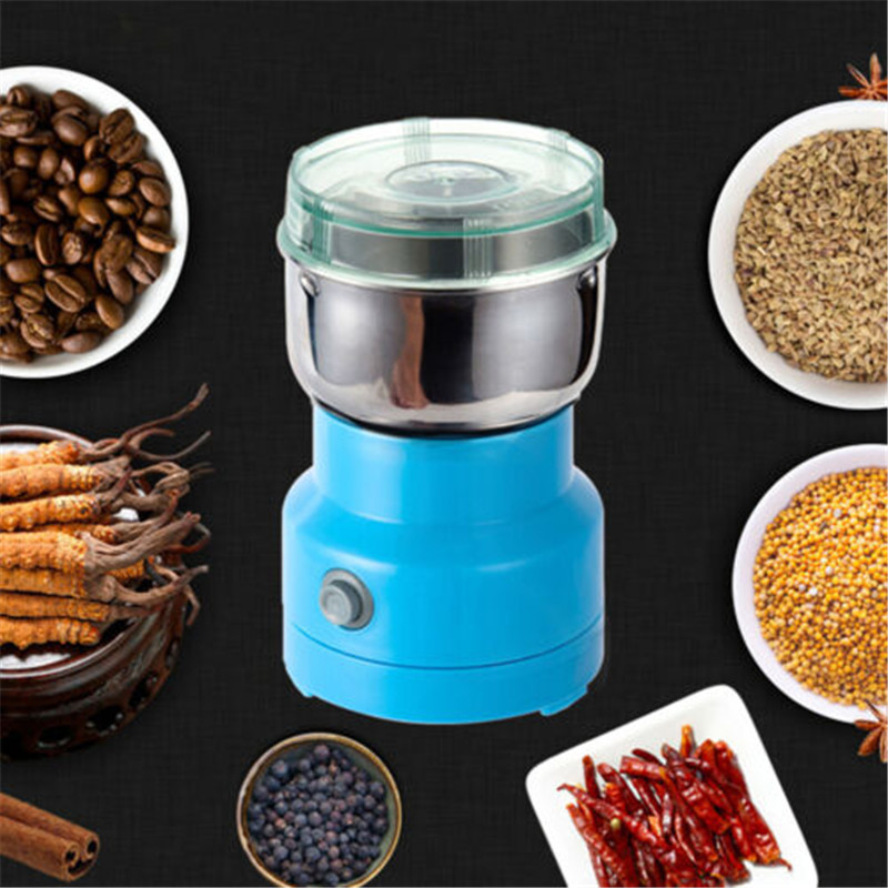 Powerful Grains Spices Grinder Hebals Cereals Coffee Dry Food Grinder Mill Grinding Machine Gristmill Home Medicine