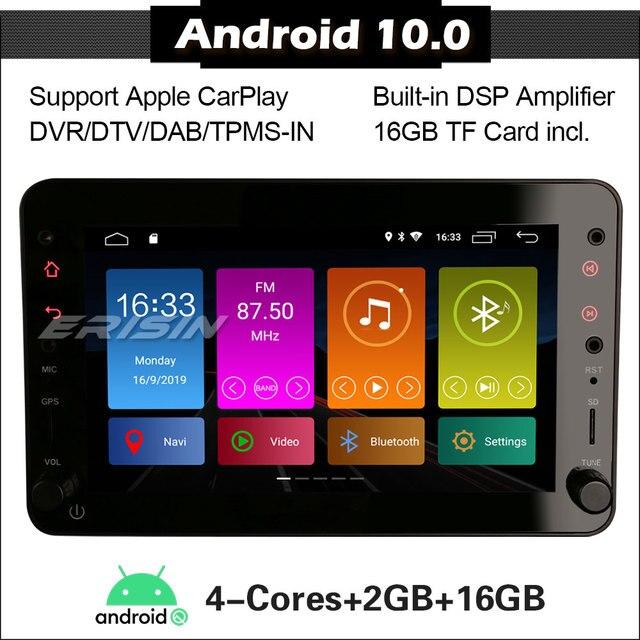 ERISIN 3020 Android 10.0 DSP Carplay GPS Autoradio Car Stereo for Alfa Romeo Spider 159 Sportwagon Brera Radio Multimedia Player