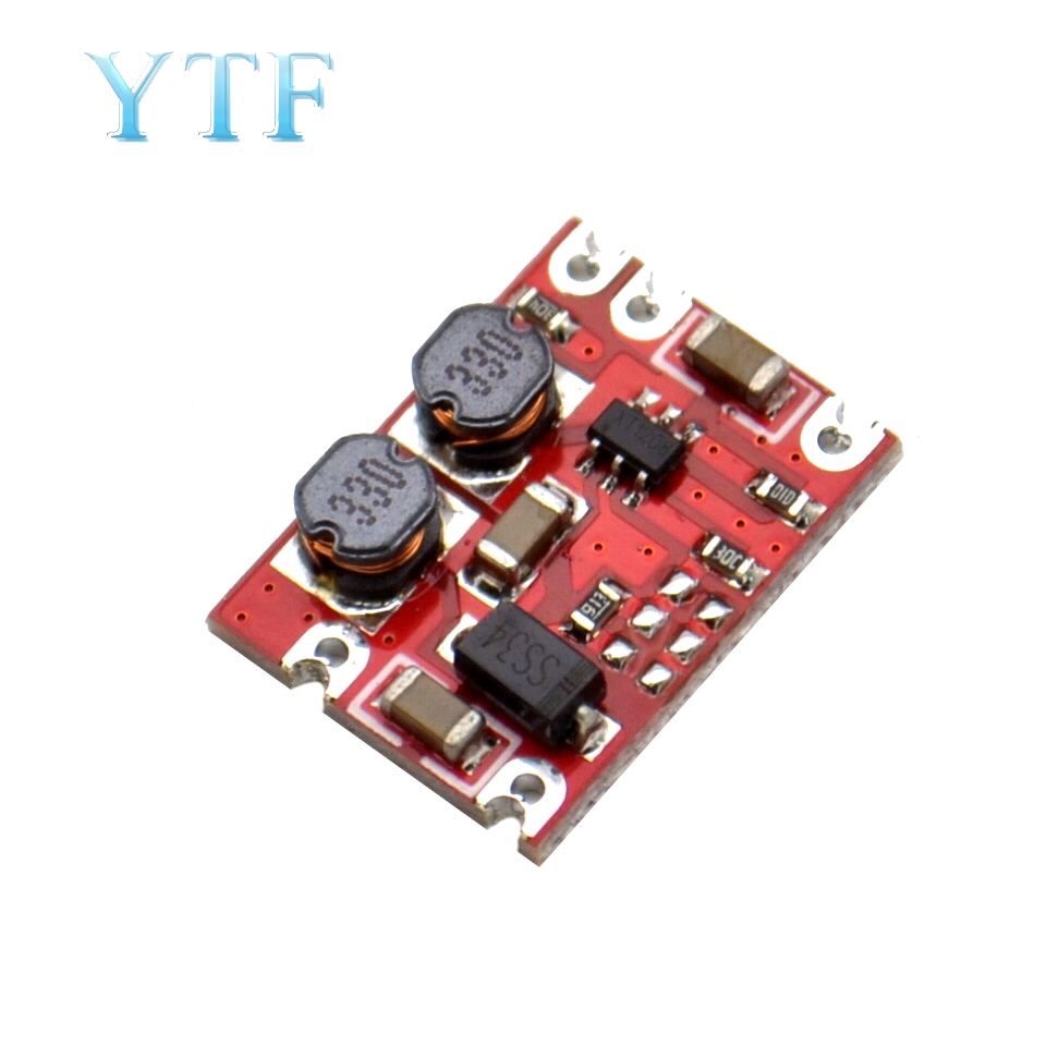 DC Automatic Step-up And Step-down Module 2.5V-15V To 5V Fixed Output Small Volume Power Module