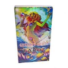 Cartes de Tarot de gatory Scott, jeux de société classiques anglais complet, Oracle de Divination, jeu de bureau imaginatif, avec PDF