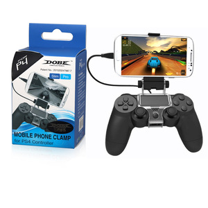 Upgraded Version Foldable Gamepad Holder For PS4 Slim Pro Adjustable Angle Stand Support 6 inch Mobile Phone Controller Joystick(China)
