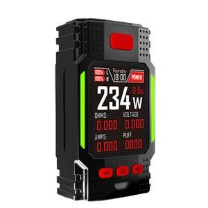 Hugo Vapor электронная сигарета Ranger Gt234 Tc Box Mod 234 Вт 2,0 дюймов Ips экран контроль температуры обновляемая прошивка для Hu