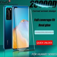 Protector de pantalla de cristal templado para Huawei P40 P20 P30 Lite Pro Mate 10 30 20 Lite honor 7A 8A 8X 9A 10i 10X Lite 30 20 Pro película