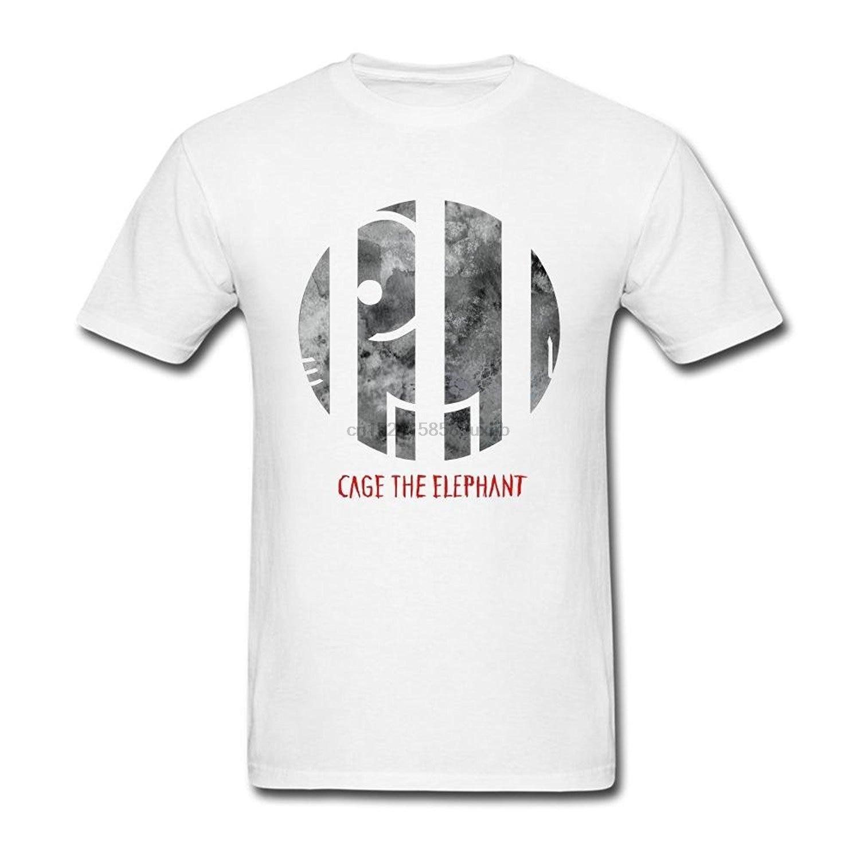 New Cage The Elephant Rock Band Logo Men/'s Black Long Sleeve T-Shirt Size S-3XL